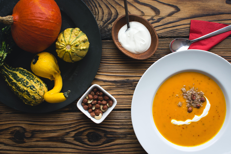 Рецепт пряного тыквенного супа-пюре