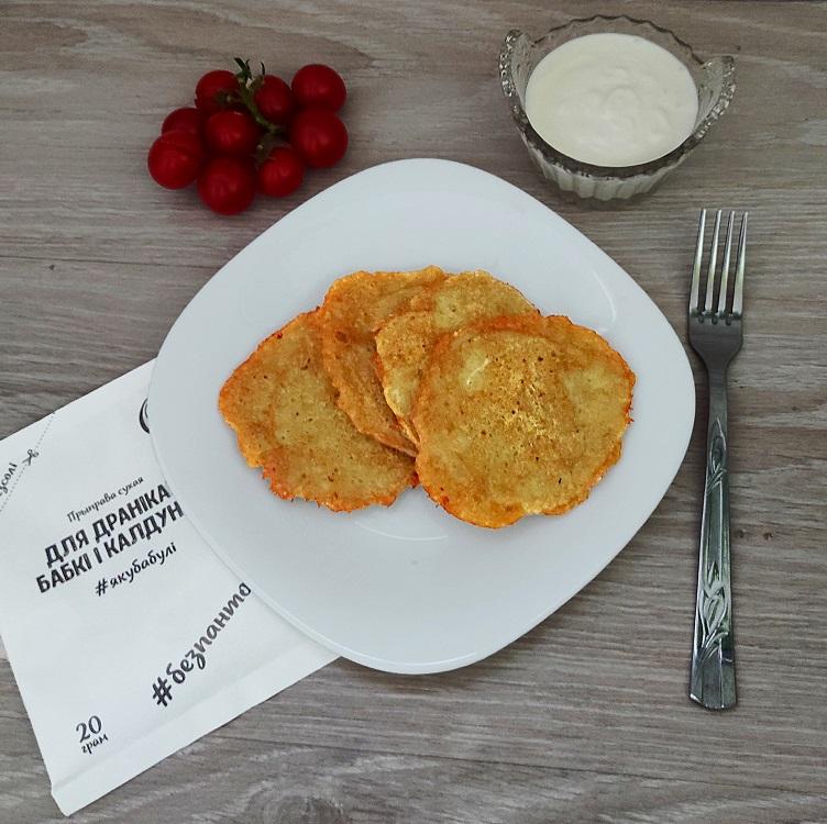 Рецепт драников с сыром