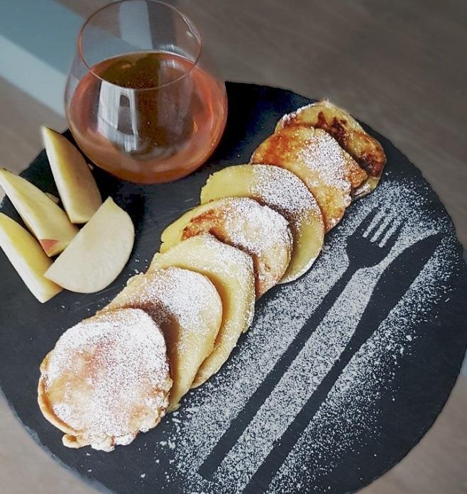 Рецепт яблочных оладий