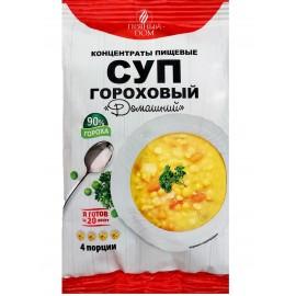 Суп-пюре гороховый с гренками, 18 г