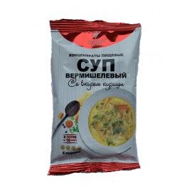 Концентраты пищевые «Суп вермишелевый со вкусом курицы», 70 г